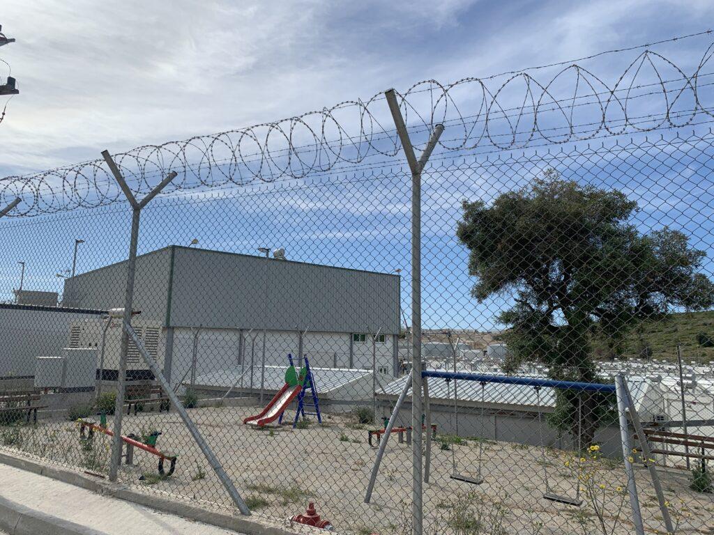 Ny flygtningelejr på Samos