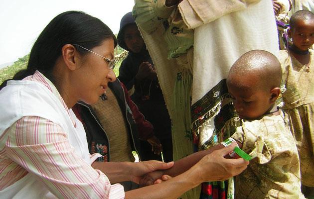 Læger uden Grænsers internationale formand Joanne Liu.