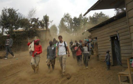 Kristoffer Vogler udsendt for Læger uden Grænser i DR Congo.