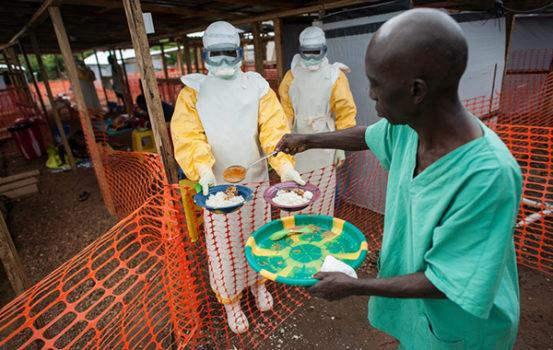 Sådan arbejder vi med ebolabehandling