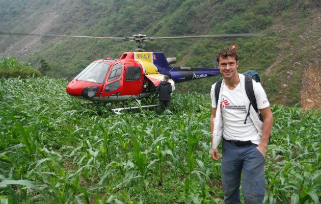 Vores læge Kristoffer Vogler fortæller om sine udfordringer i Nepal.
