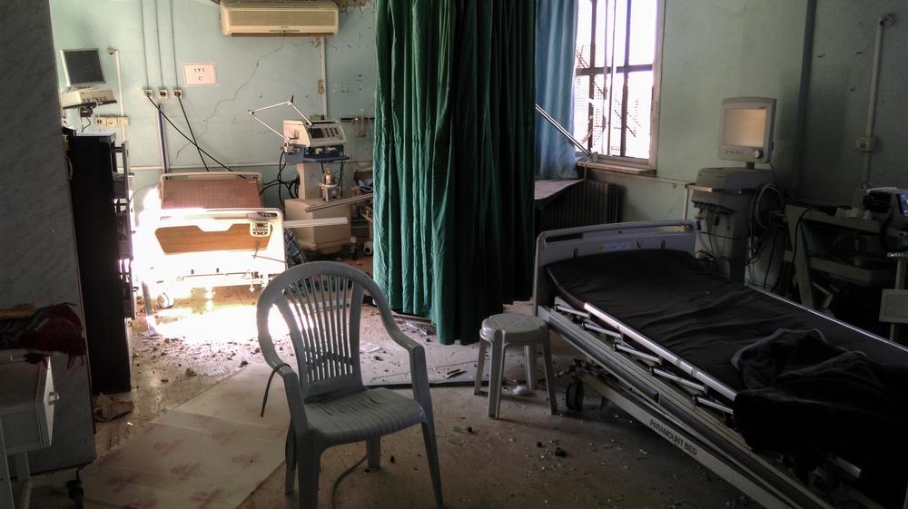 Bombardementer mod sundhedsfaciliteter i Syrien er steget.