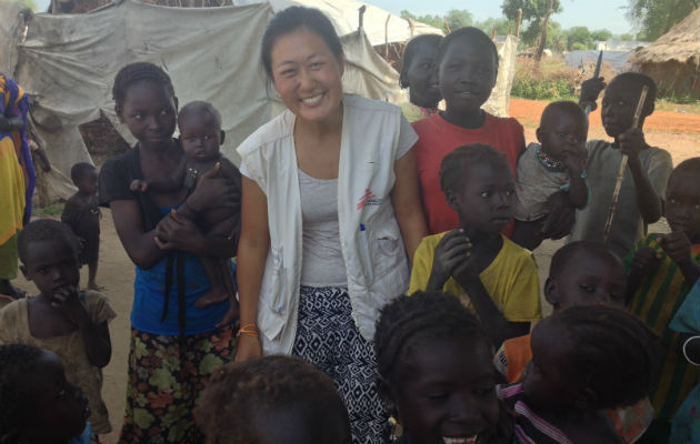 Vores sygeplejerske Nikoline arbejder i en flygtningelejr i Sydsudan.