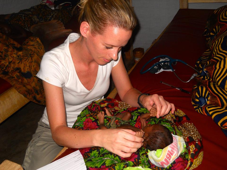 Læge Anne Leegaard fortæller om sin hverdag i DR Congo. © Anne Leegaard