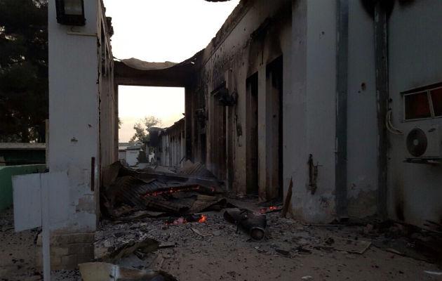Vores sygeplejerske fortæller om sine voldsomme oplevelser under luftangrebet i Kunduz. © Læger uden Grænser