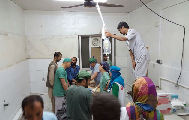Vores hospital i Kunduz i Afghanistan må lukke efter angrebet. © Læger uden Grænser