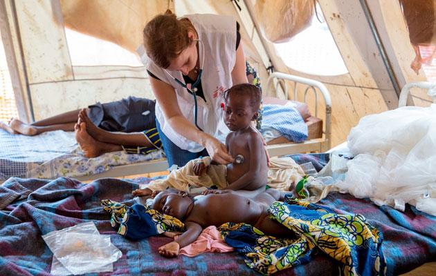 Malaria tager hvert år mange liv i udviklingslandene.
