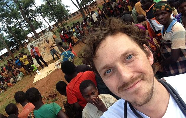 Rune Hasselager er udsendt for Læger uden Grænser i Tanzania.