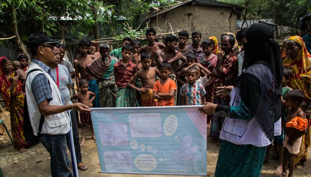 Læger uden Grænser yder lægehjælp til mennesker på flugt, unge kvinder og fattige i slummen i Bangladesh.