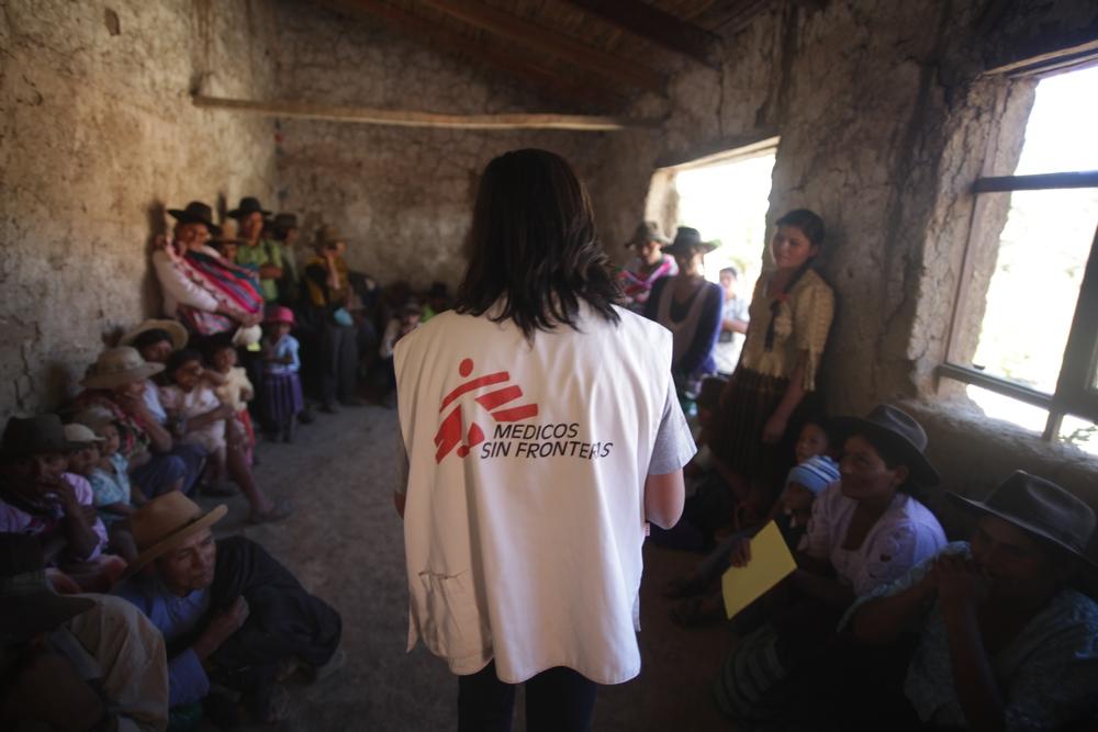 I Bolivia gør vi en betydelig indsats for at øge befolkningens bevidsthed omkring chagas.