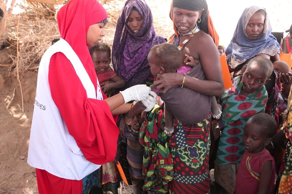Mange sygdomme spreder sig med underernæring. Læger uden Grænser vaccinerer børn i Etiopien.