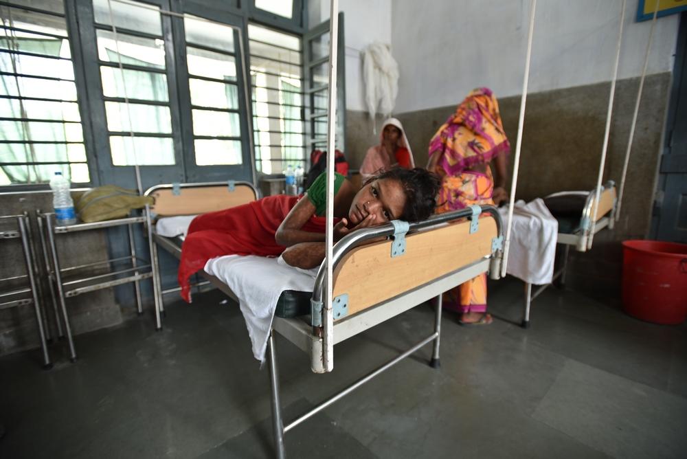 Sundhedspleje er fortsat svært tilgængelig for Indiens mest isolerede og marginaliserede befolkningsgrupper. Vi behandler blandt andet hiv, tuberkulose og kala azar.