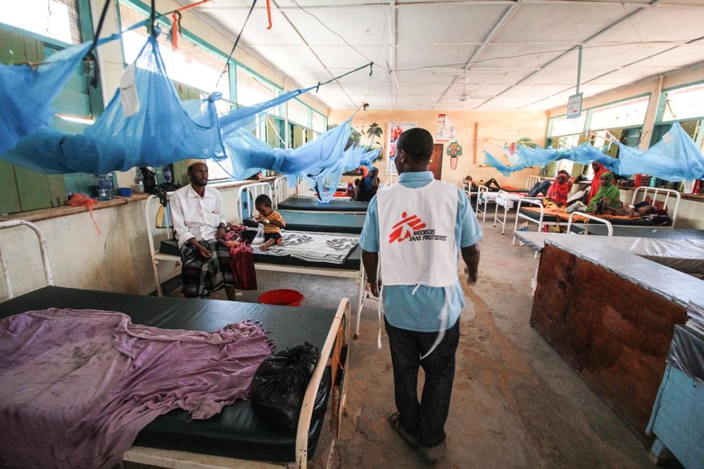 Læger uden Grænser er blandt andet til stede i verdens største flygtningelejr - Dadaab - i Kenya.