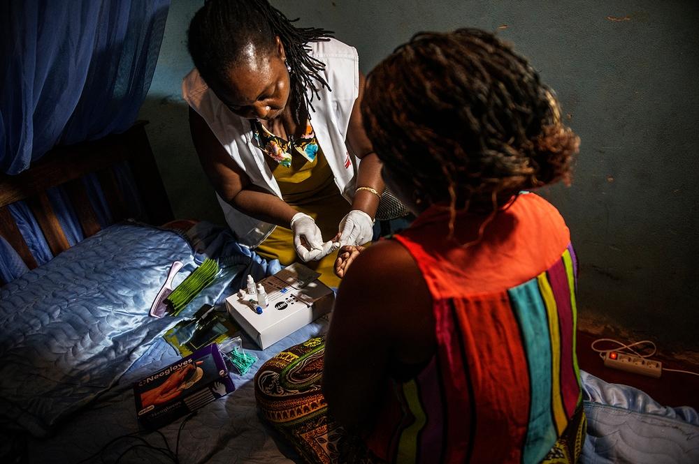 Hiv/aids er et stort problem i Mozambique.