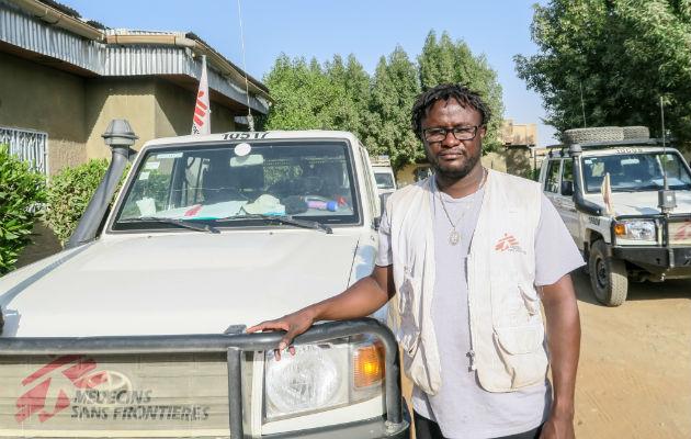 Vores feltkoordinator i Nigeria, Alfred Davies, er manden bag beretningen du lige har læst.