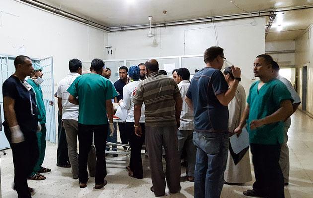 Læger uden Grænser støtter hospitalet i Tal Abyad i det nordlige Syrien