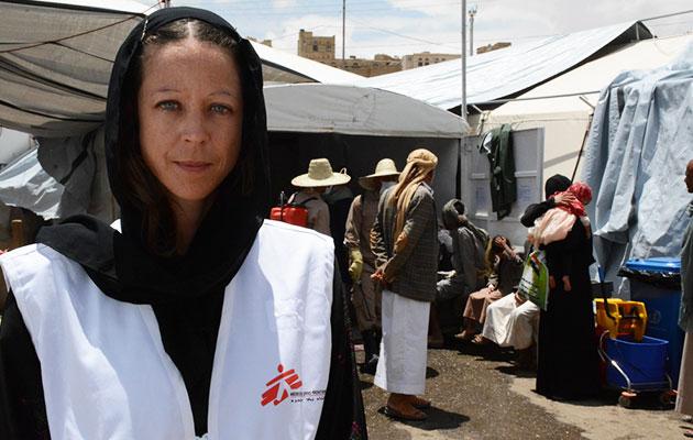 Claire har været udsendt til Yemen
