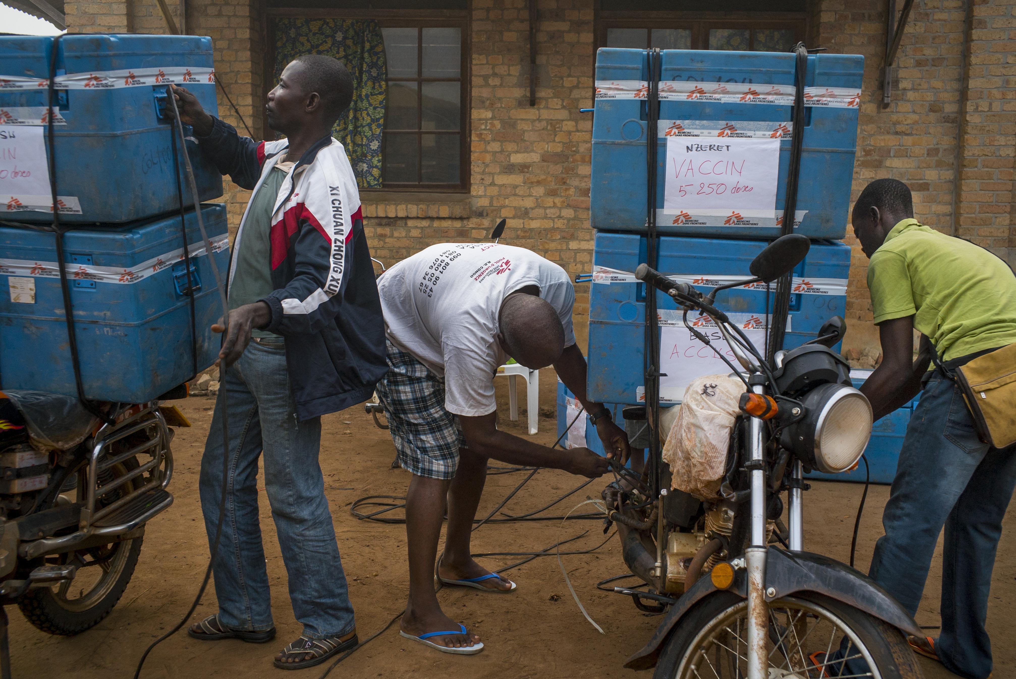 mæslinge-vacciner i DR Congo