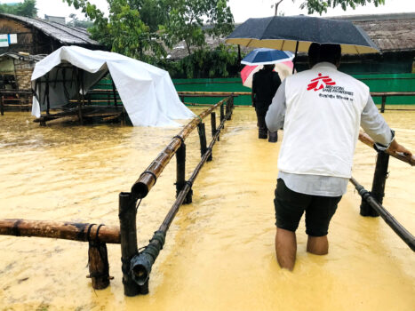 Oversvømmelse i Bangladesh