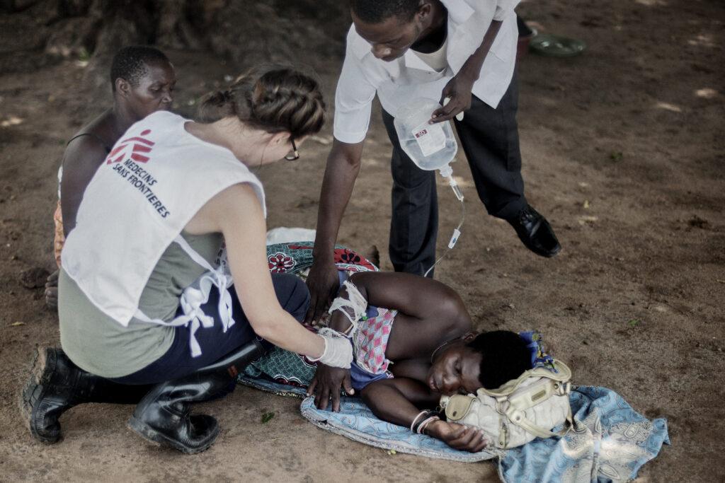 Oversvømmelse i Malawi