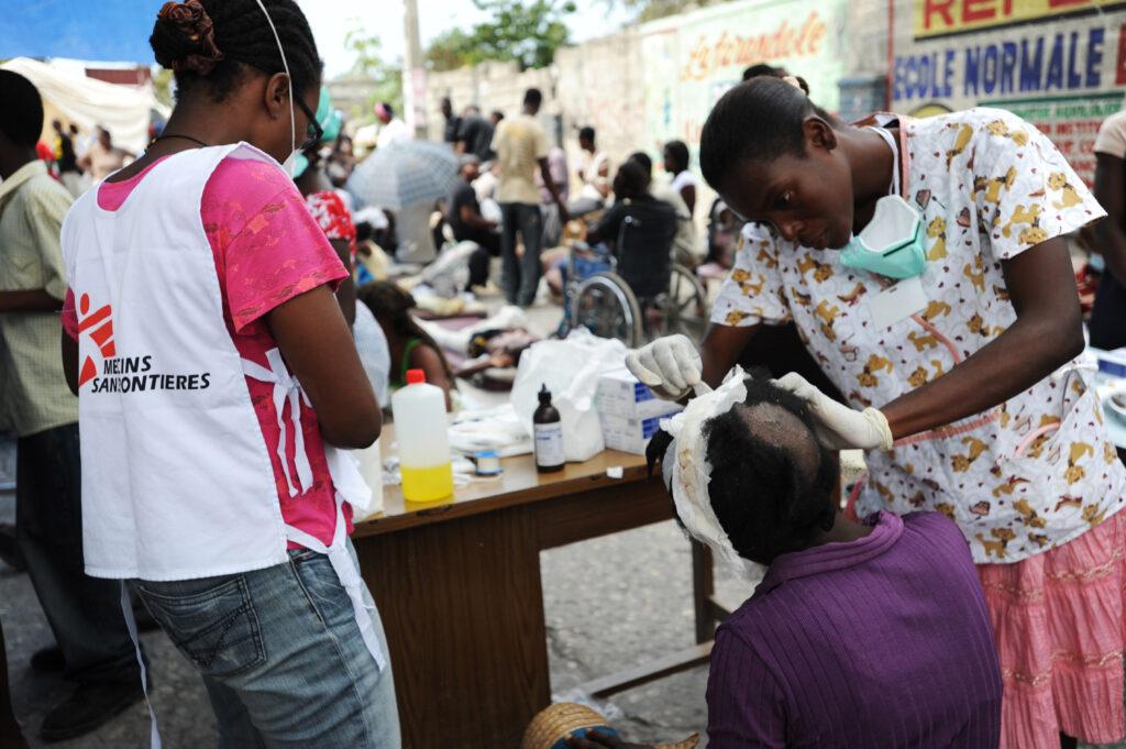 jordskælv haiti 2010