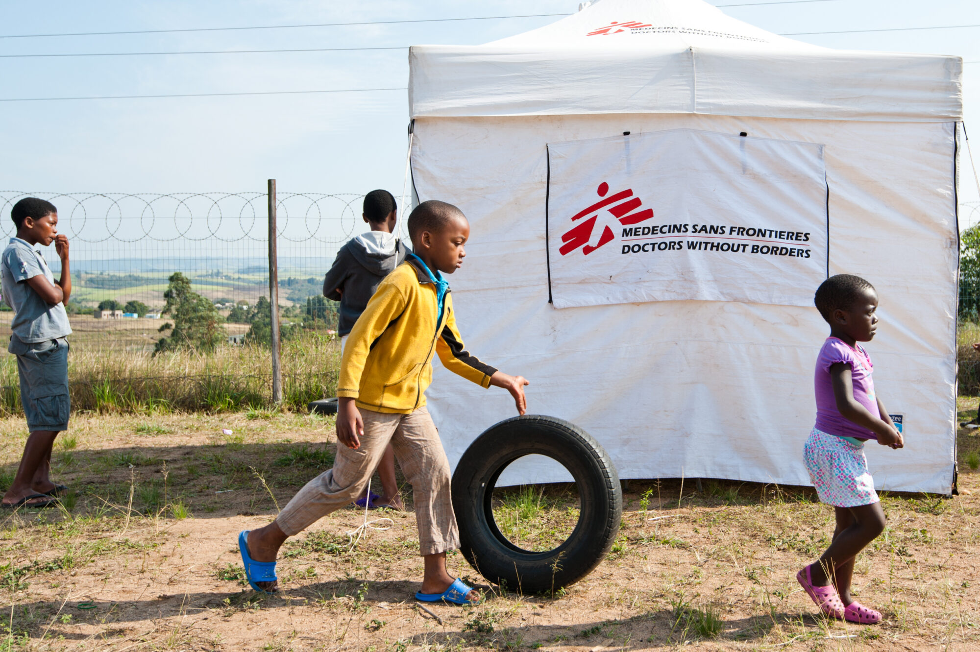 Børn med hiv er en glemt krise.