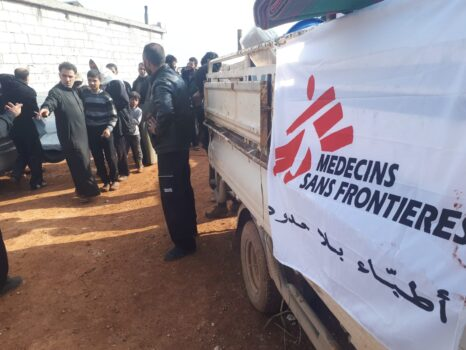 Læger uden Grænser (MSF) hjælper i Syrien
