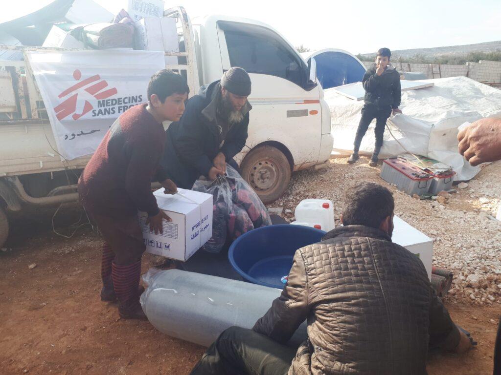 Vi giver lægehjælp i Syrien.