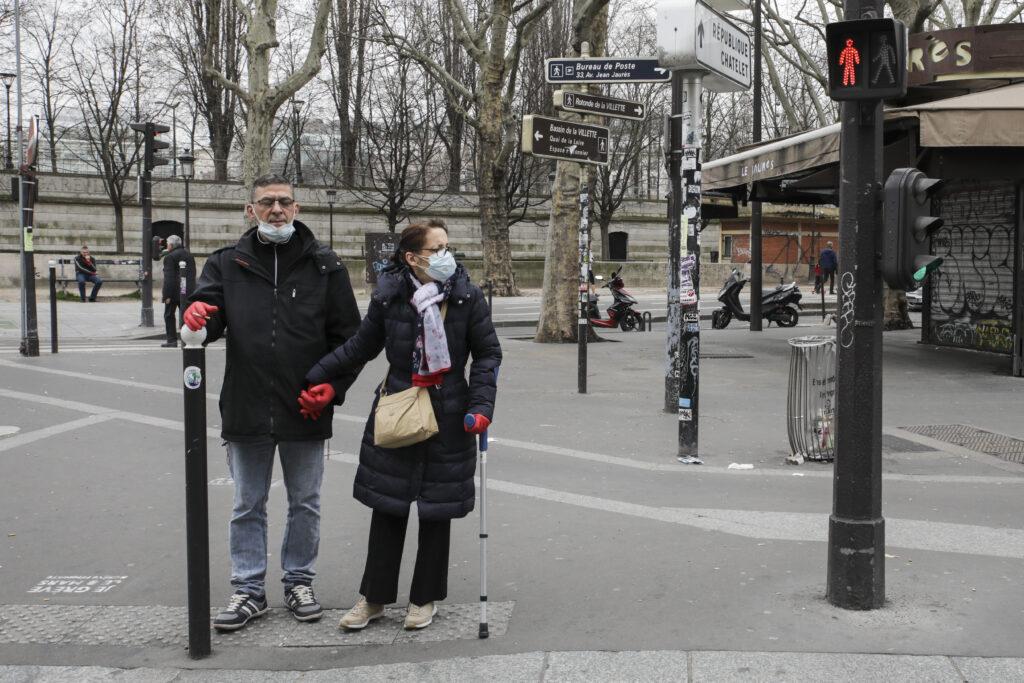 Læger uden Grænser (MSF) hjælper i Frankrig med at begrænse smitte og med behandling af af coronavirus (COVID-19)