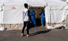 Læger uden Grænser (MSF) arbejder med coronavirus