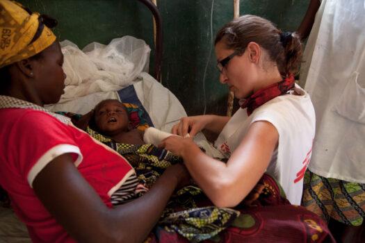 Intensivsygeplejerske i Læger uden Grænser