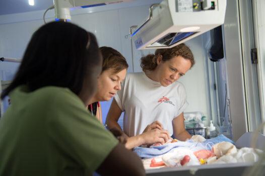 Pædiatrisk og neonatal sygeplejerske