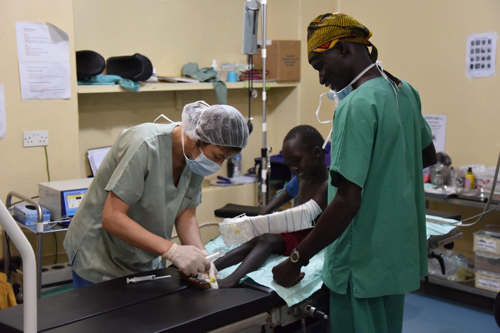 Bliv anæstesisygeplejerske i Læger uden Grænser