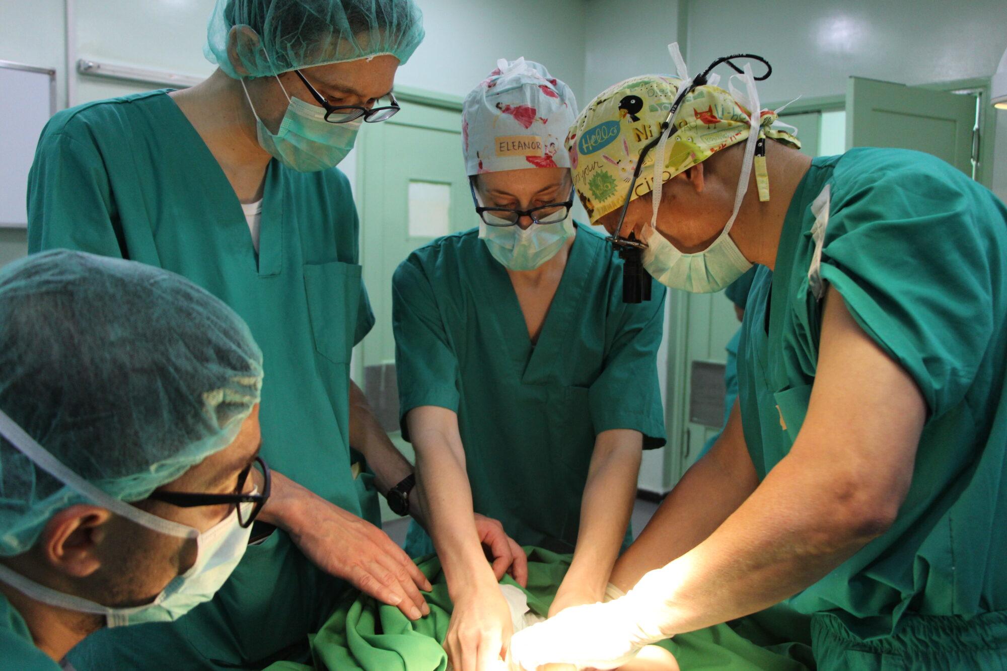 Operationssygeplejerske i Læger uden Grænser