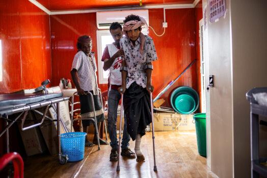 Fysioterapeut i Læger uden Grænser