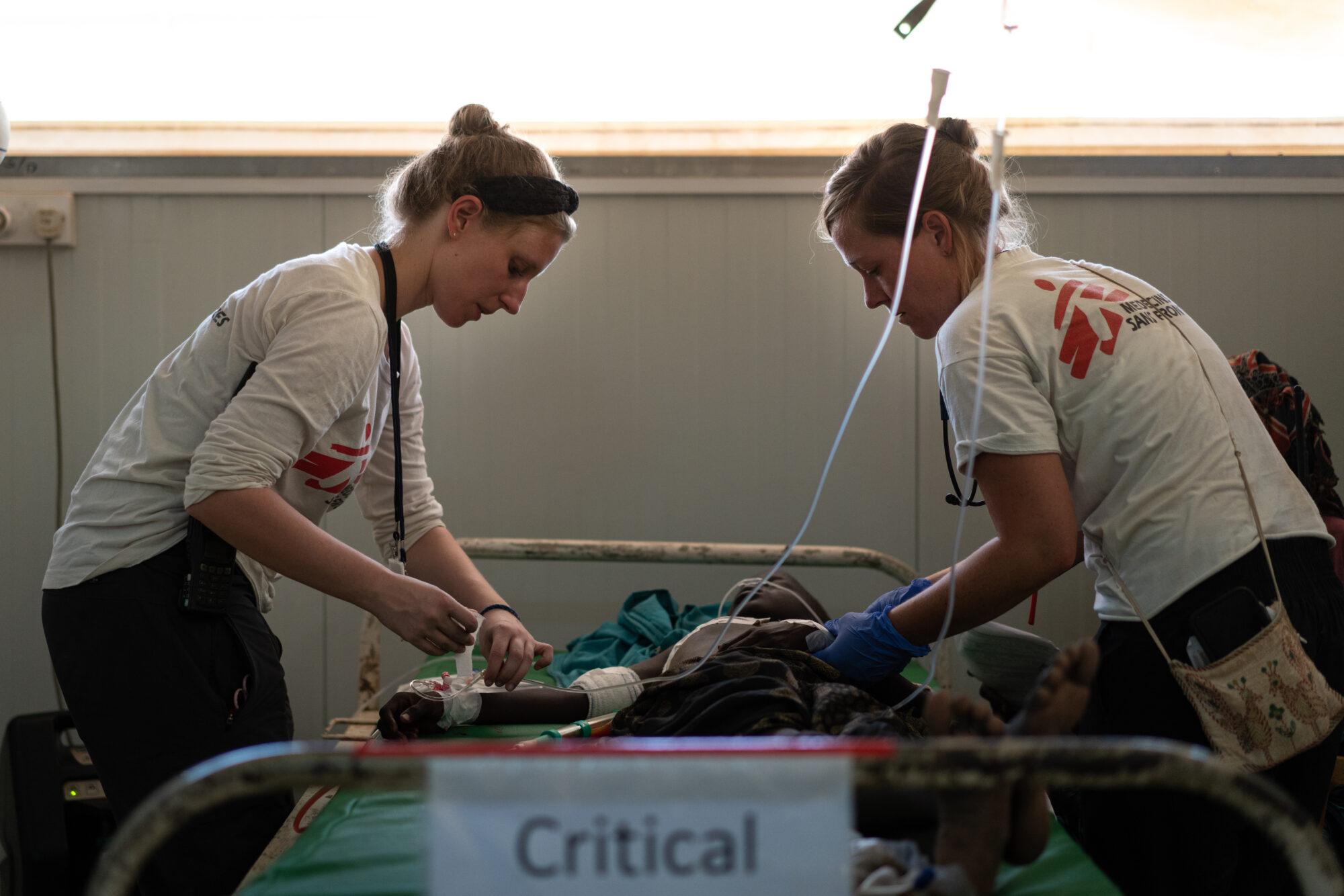 Skadestuesygeplejerske i Læger uden Grænser