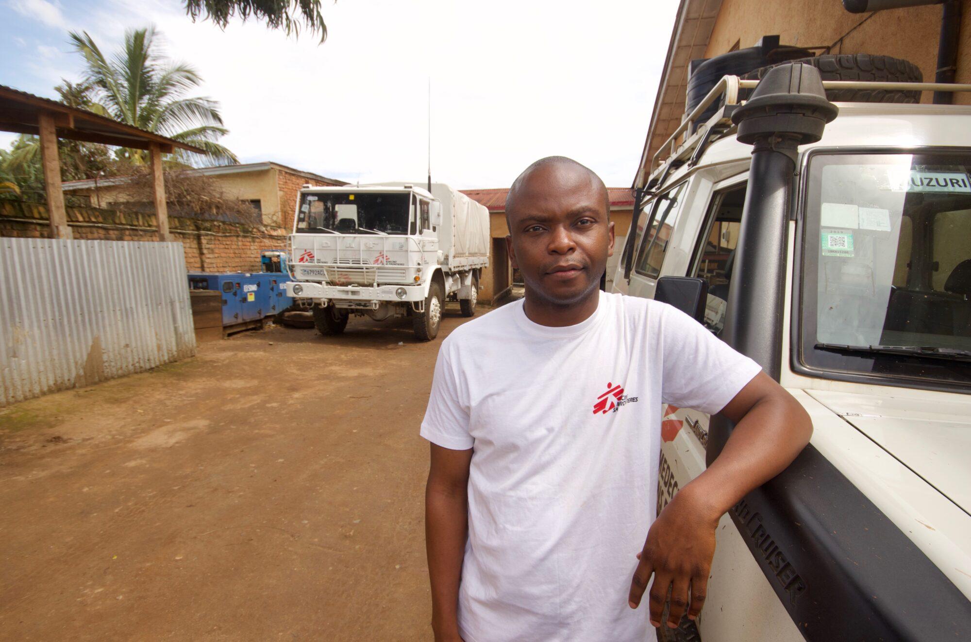 Læger uden Grænser (MSF) hjælper befolkningen i DR Congo og forsøger bl.a. at bekæmpe coronavirus (COVID-19)