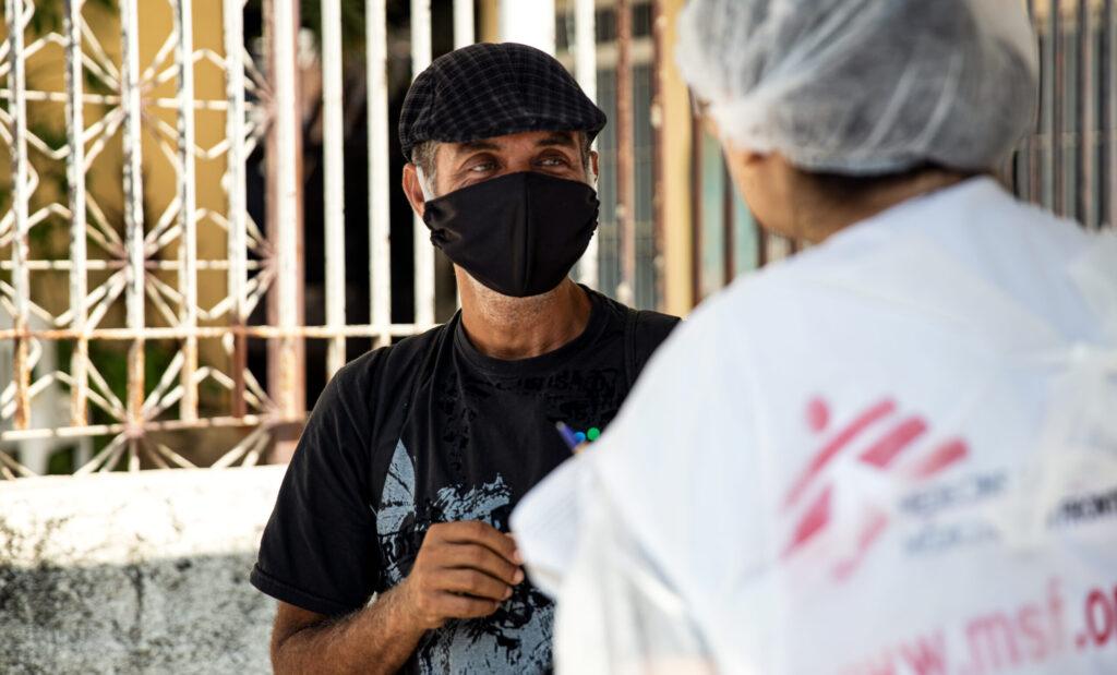 Læger uden Grænser (MSF) kæmper mod coronavirus (COVID-19) i Amazonas i Brasilien.