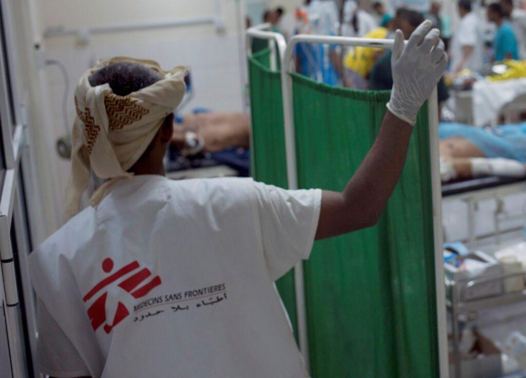 Læger uden Grænser (MSF) hjælper i Yemen under borgerkrig og coronavirus (COVID-19)