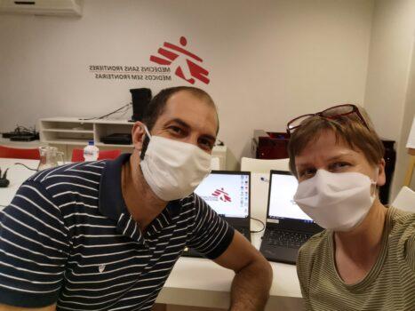Udsendt for Læger uden Grænser (MSF) til Brasilien ramt af coronavirus (COVID-19)