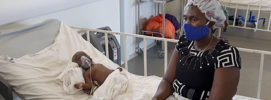 Læger uden Grænsers (MSF) børnehospital i Hangha i Sierra Leone