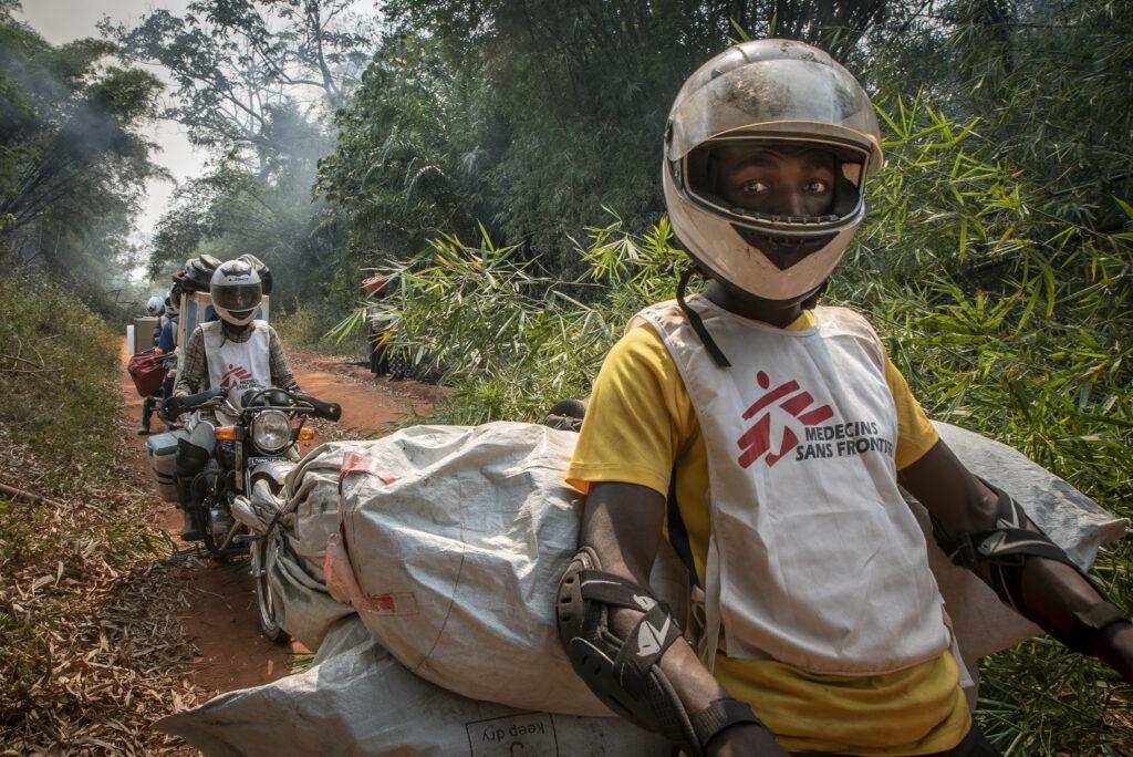 Læger uden Grænser (MSF) vaccinerer mod mæslinger i DR Congo