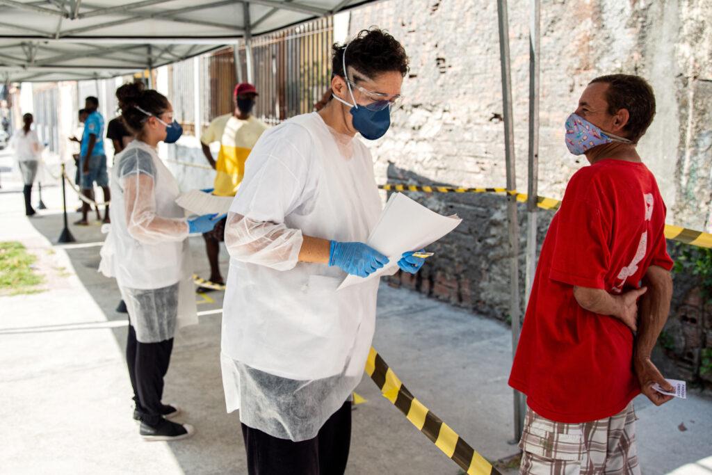 Læger uden Grænser (MSF) bekæmper coronavirus (COVID-19) i Brasilien