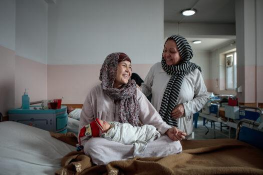 Læger uden Grænser (MSF) hjalp gravide og fødende kvinder på Dasht-e-Barchi i Kabul i Afghanistan.