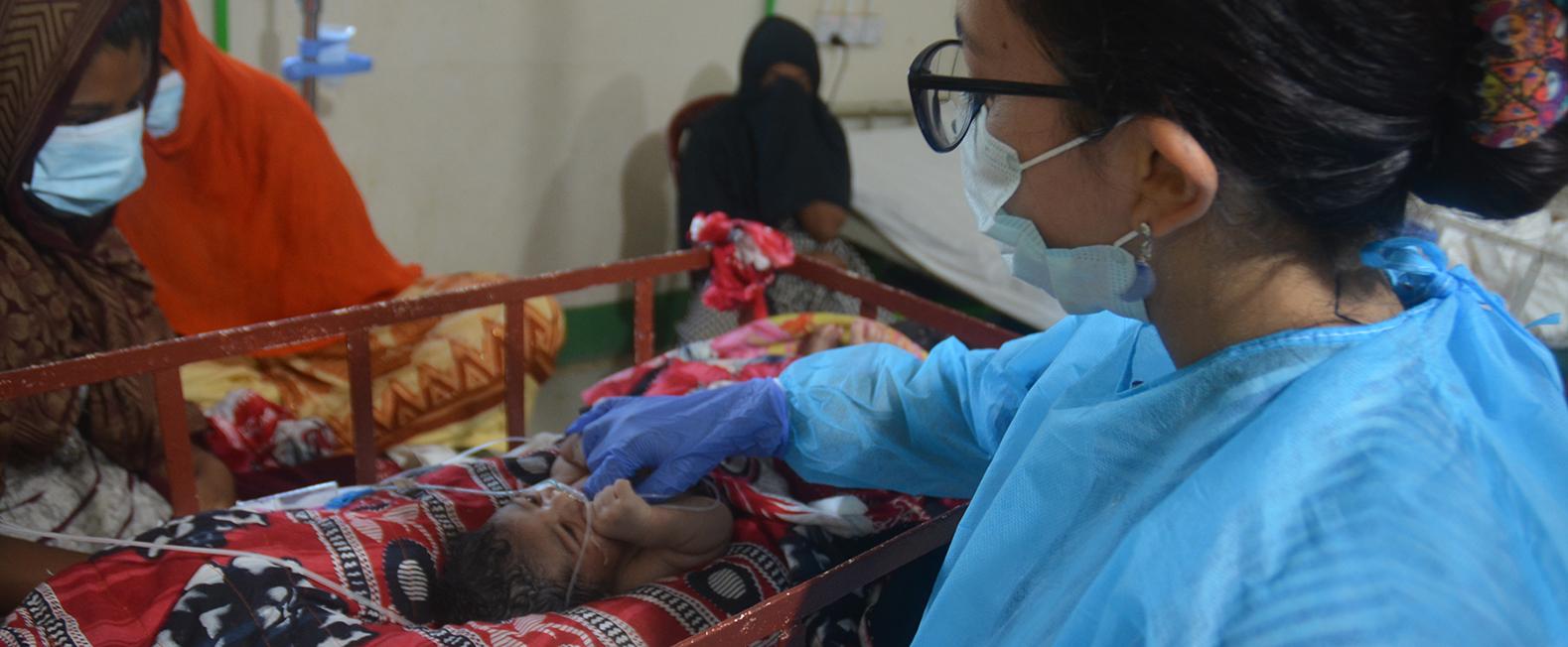 Læger uden Grænser (MSF) hjælper på vores hospital i Cox's Bazar i Bangladesh