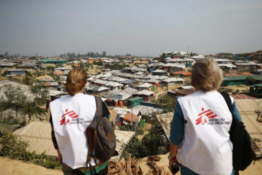 Læger uden Grænser hjælper i flygtningelejre i Bangladesh