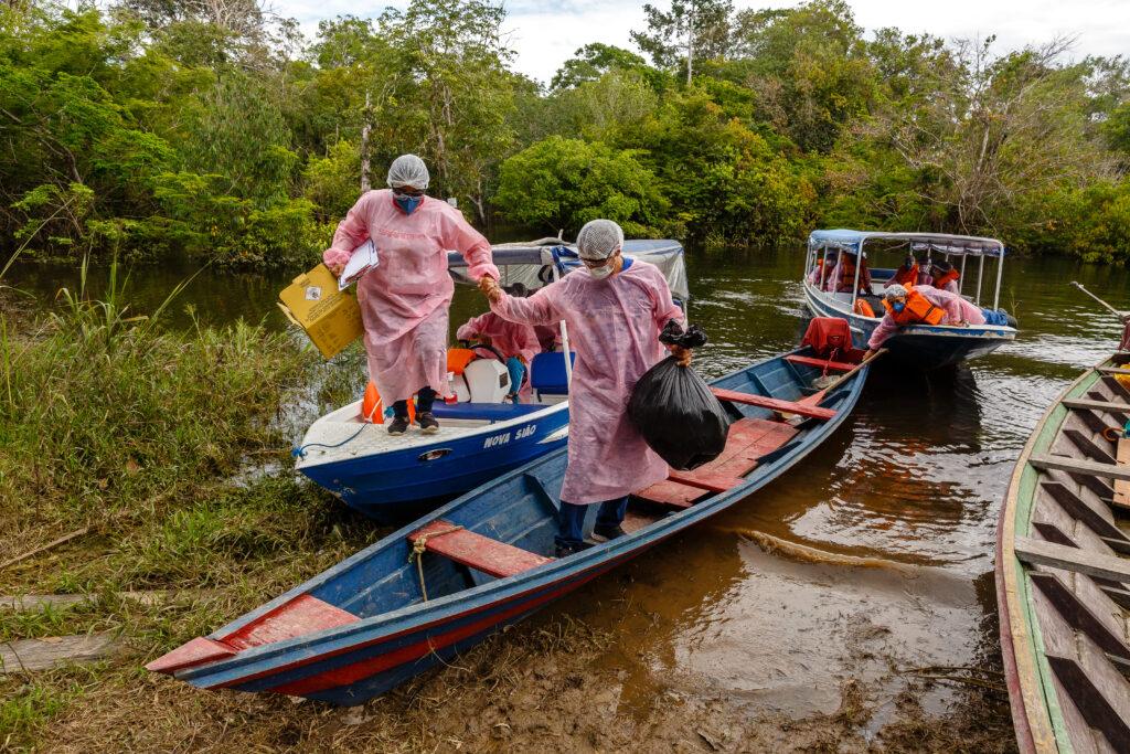 Læger uden Grænser behandler coronavirus COVID-19 i Brasilien