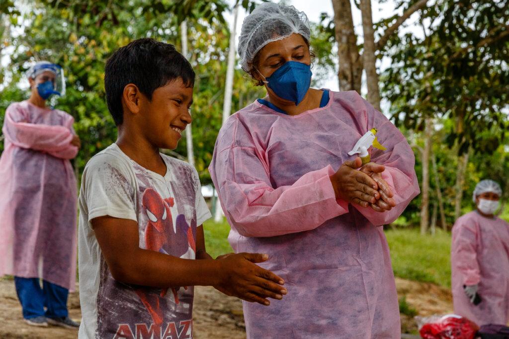Læger uden Grænser (MSF) bekæmper coronavirus COVID-19 i Brasilien