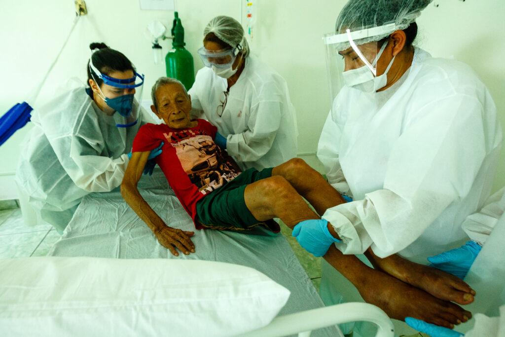 Læger uden Grænser (MSF) behandler coronavirus COVID-19 i Brasilien