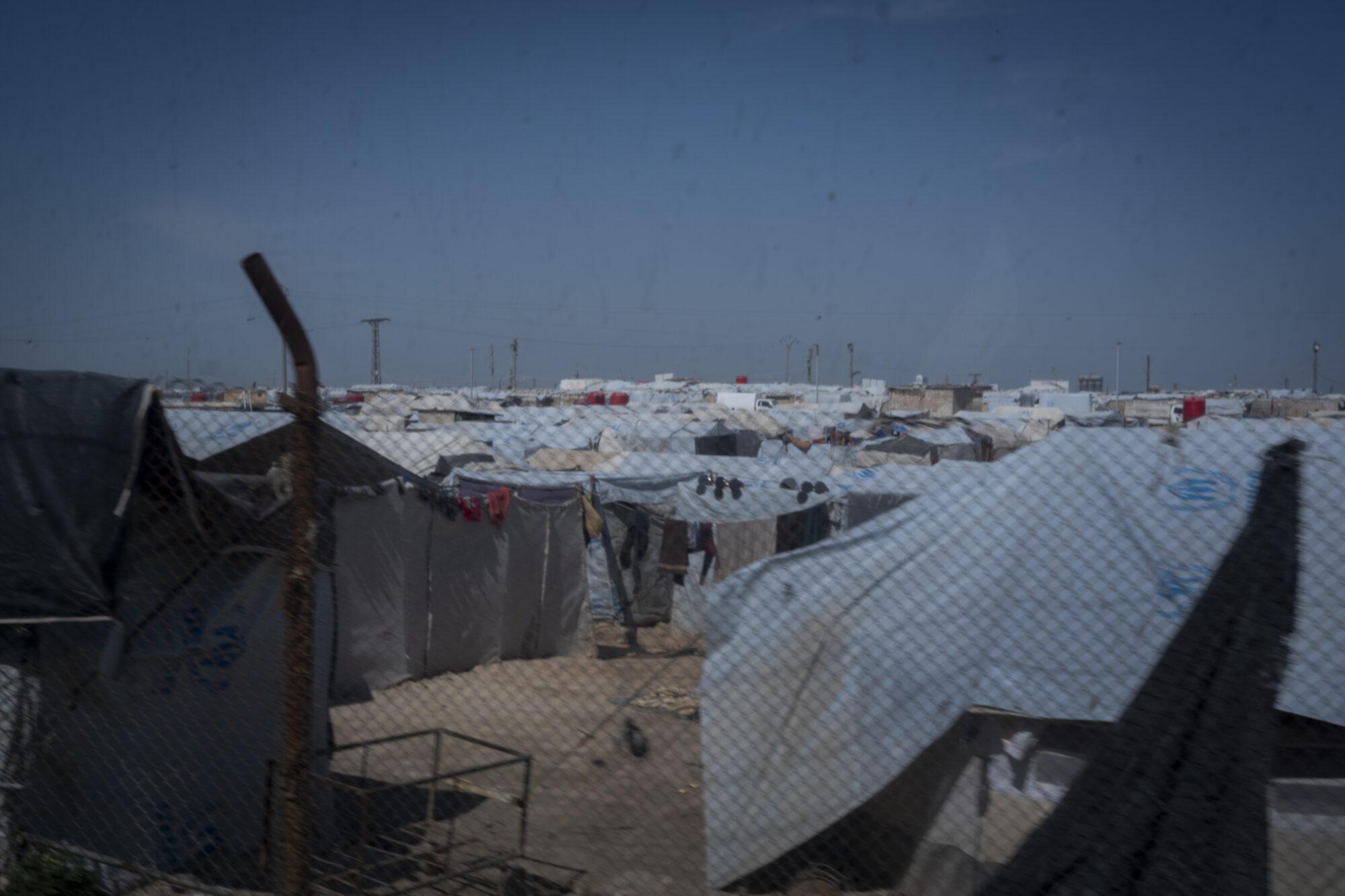 Læger uden Grænser i Al Hol flygtningelejr i Syrien